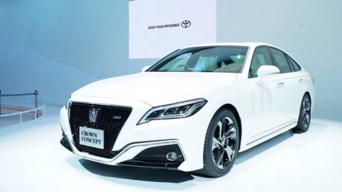 Toyota Crown versi SUV