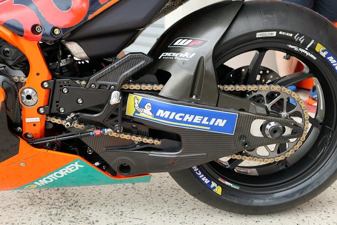 Swing Arm Full karbon KTM RC16