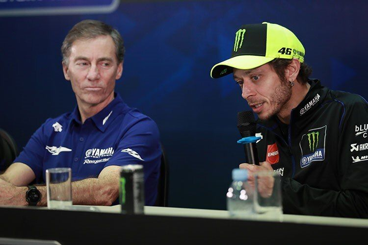Valentino Rossi-Lin jarvis