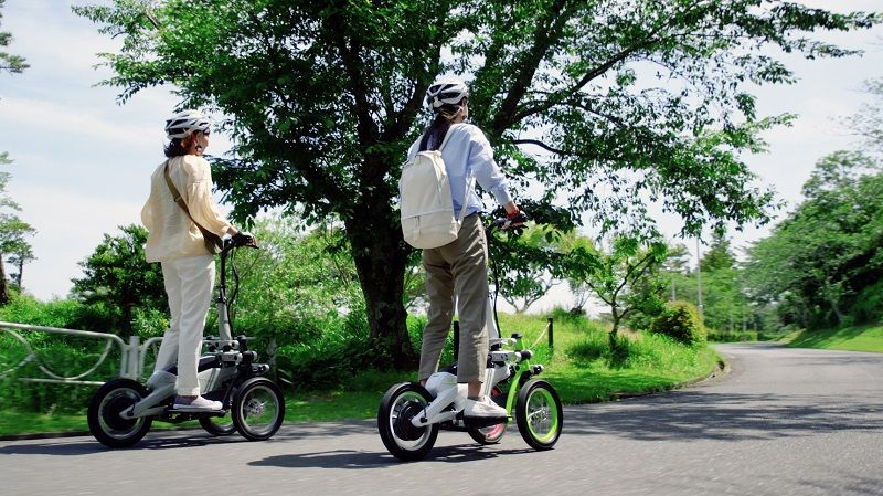 Yamaha Tritown Stand-Up Scooter