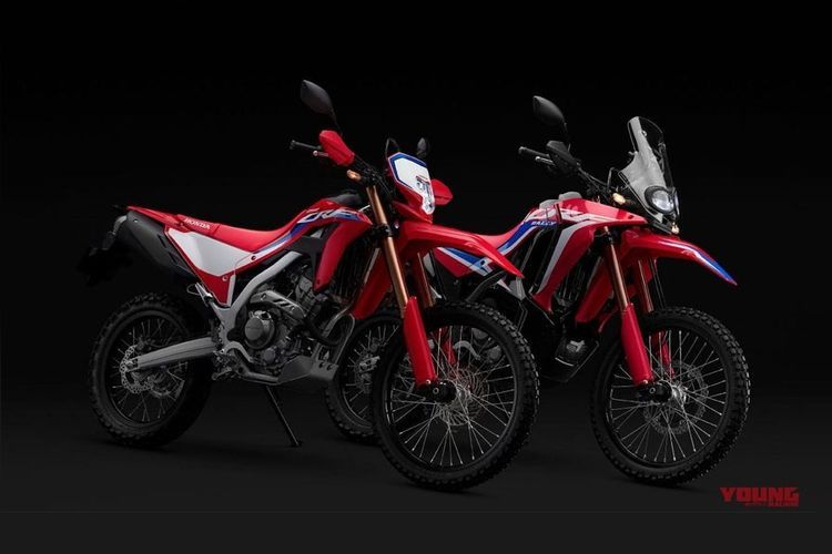 Sosok New CRF250 Rally dan CRF250L