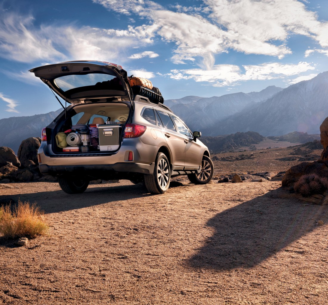 People are still buying this 2016 Subaru Outback, mostly to drive to yoga and haul the tent.