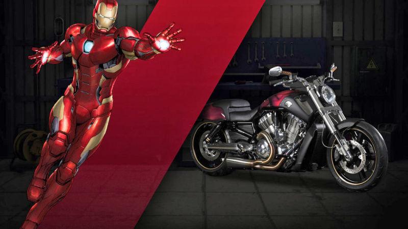Iron Man V-Rod Muscle® Boldness