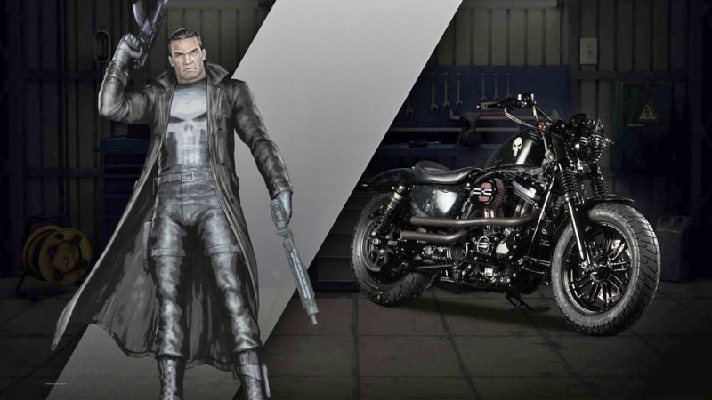 Punisher Forty-Eight® Up-Front