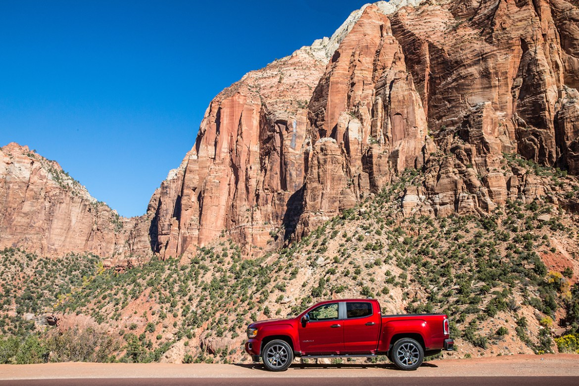 Destination St George Utah In A Gmc Canyon Rides Drives