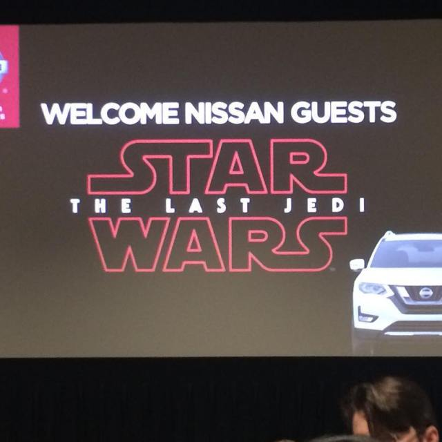 This should be fun Thanks Nissan for a special screeninghellip