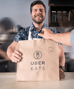 You Can Drive for Uber Eats with a 2 door car