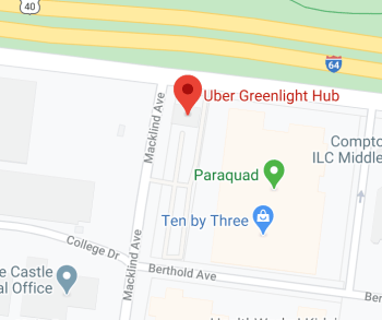 Uber Greenlight Location Baldwin Park California