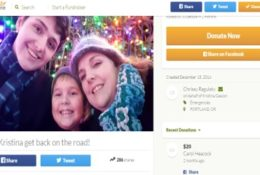 Disabled single mom crashes, needs Uber deductible and groceries.