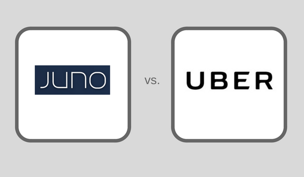 Juno Vs. Uber | How does Juno Compare to Uber in 2017?