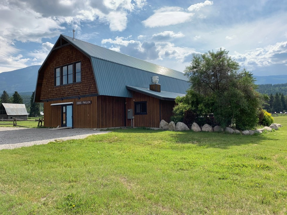 events centre at the Golden Eco Adventure Ranch