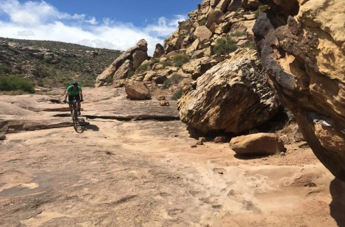 a winter mountain bike destination in the USA, Hurricane, Utah offers some great riding