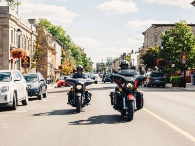 Motorcycles and Main Streets