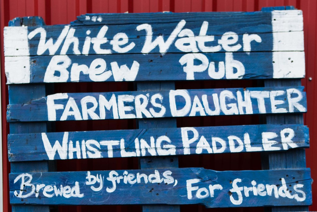 Whitewater Brewing Sign