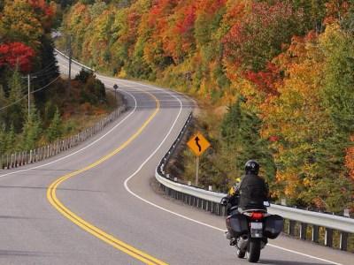Fiery Fall Colour Views