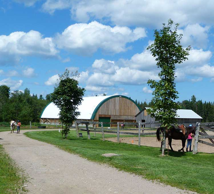 Cabin rentals, Trail Riding near algonquin. Western & English riding Stable near Algonquin Park Ontario