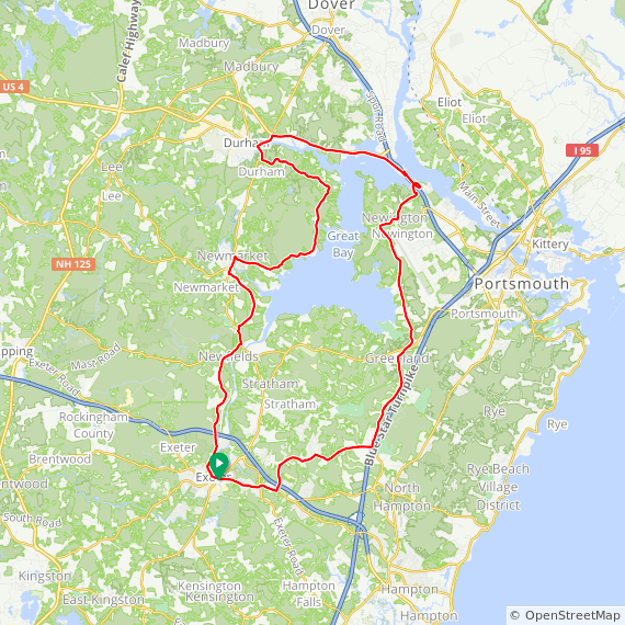 Exeter to Great Bay – Bike New England