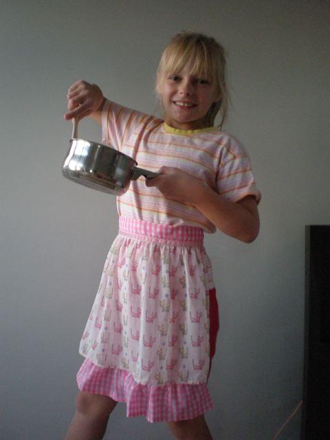 Little Lady mini apron