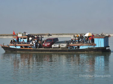 This is just one of the numerous ferry they need to for the day
