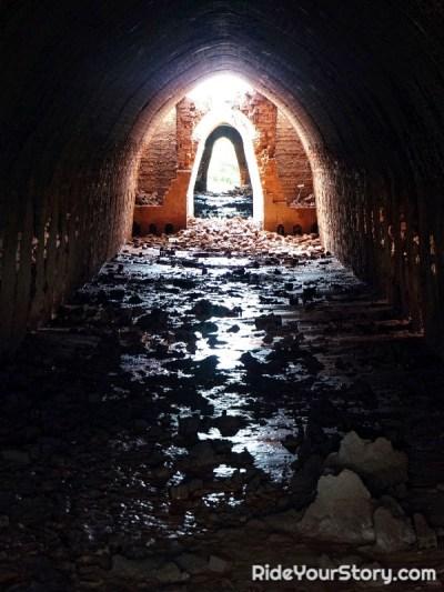 Inside of the klin.