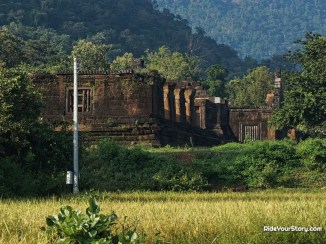 Vat Phou - view from a distance