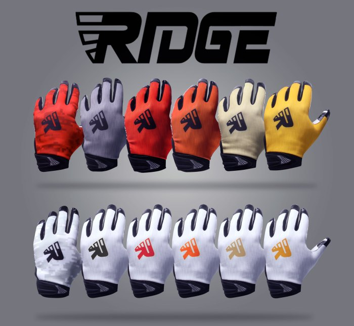 gants de football Ridge Sports Prime 1.0