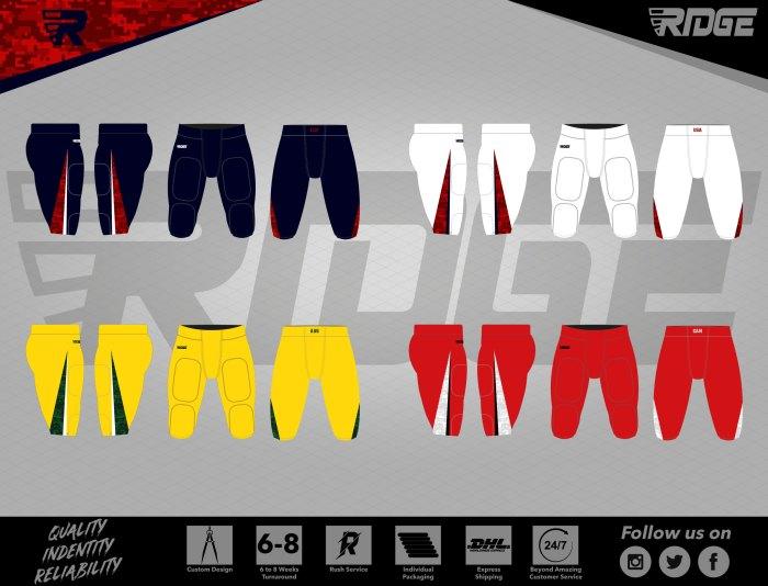 Schmyder Bowl Official American Football Pants