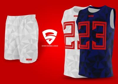 7vs7 uniforms combo top + shorts by Ridge Sports