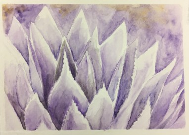 Shading with watercolor