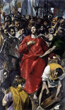 El Greco-Disrobing of Christ- web