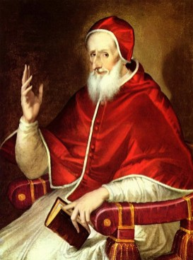 El Greco- Portrait of Pius V, pope- web