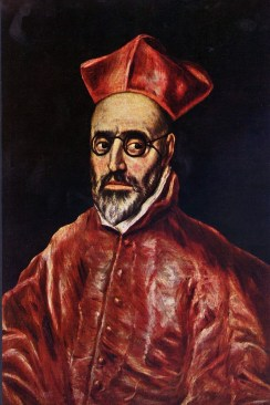 El Greco- Portrait of a Cardinal- web