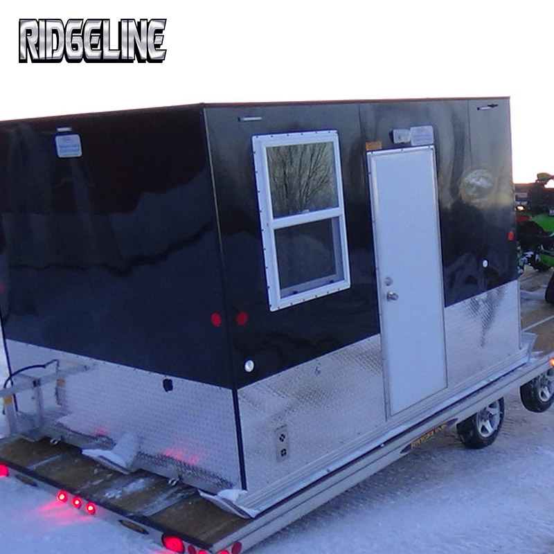 Ridgeline features skid v6 ridgeline manufacturing for Aluminum skid fish house