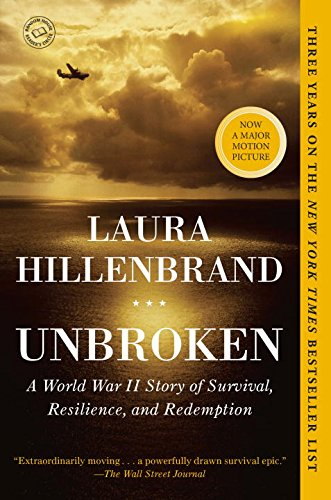 Ridgely Brode reviews the book Unbroken by Laura Hilenbrand on her blog Ridgely's Radar.