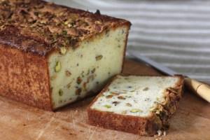 Pistachio-Citrus Pound Cake