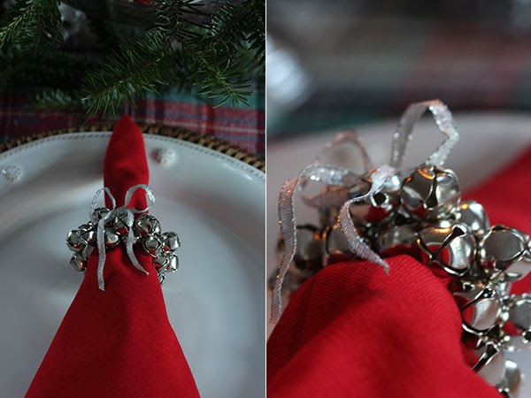DIY Jingle Bell Napkin Rings (1) | Ridgely's Radar