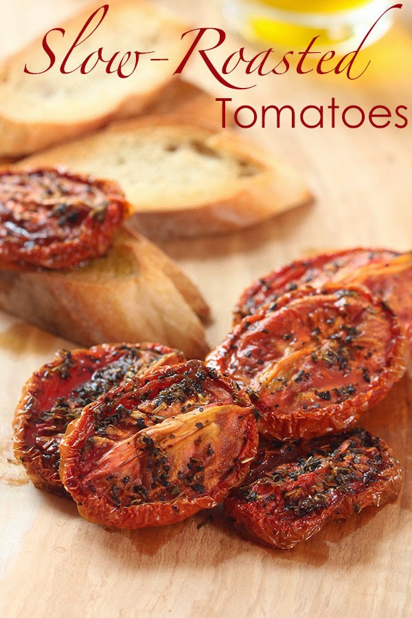 Slow-Roasted Tomatoes  | Ridgely's Radar
