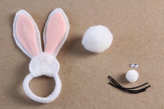 DIY Bunny napkin rings (5) | Ridgely's Radar