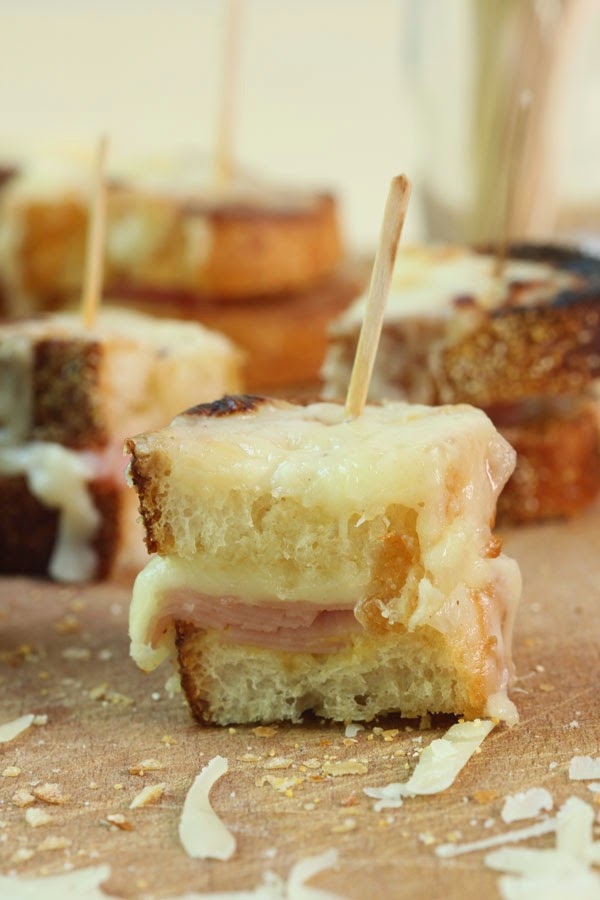 Mini Croque Monsieur Sandwiches (1) | Ridgely's Radar