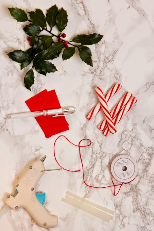 DIY Candy Cane Place Cards (2) | Ridgely's Radar