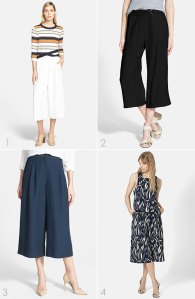 What to Wear Now: Culottes