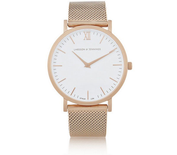 Larsson & Jennings Rose Gold=Plated Watch | Net-a-Porter