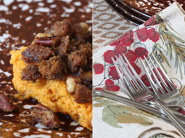 sweet potato pudding with pecan and gingersnap topping (3) | Ridgely's Radar