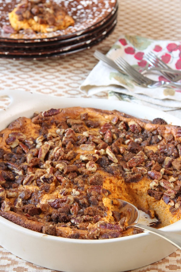 sweet potato pudding with pecan and gingersnap topping (4) | Ridgely's Radar