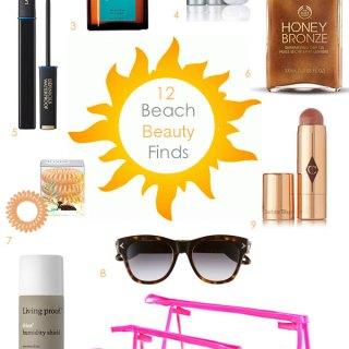 12 Beach Beauty Finds