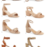 12 Stacked Heels with an Ankle Strap