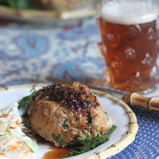 Turkey Mini Meatloaves With Chili Sesame Glaze