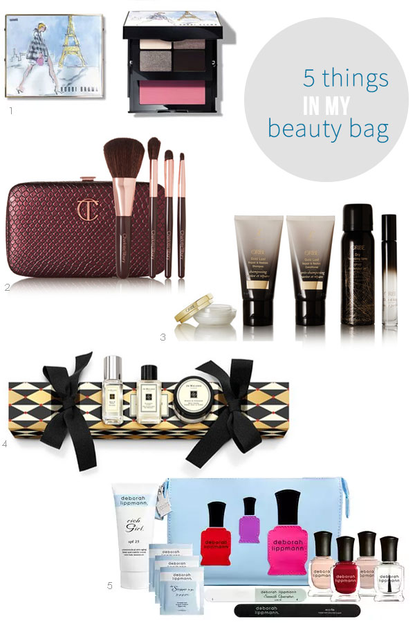 5 Things in My Beauty Bag 04 | Ridgely's Radar