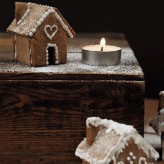 How Amazing are these Adorable Mini Gingerbread Houses?