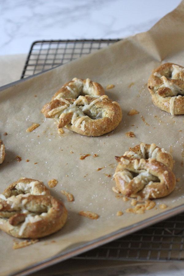 Ridgely Brode makes Caraway Cheese Soft Pretzels from RawSpiceBar on Ridgely's Radar